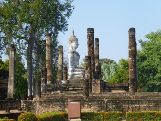 Uno scorcio del parco archeologico di Sukhothai
