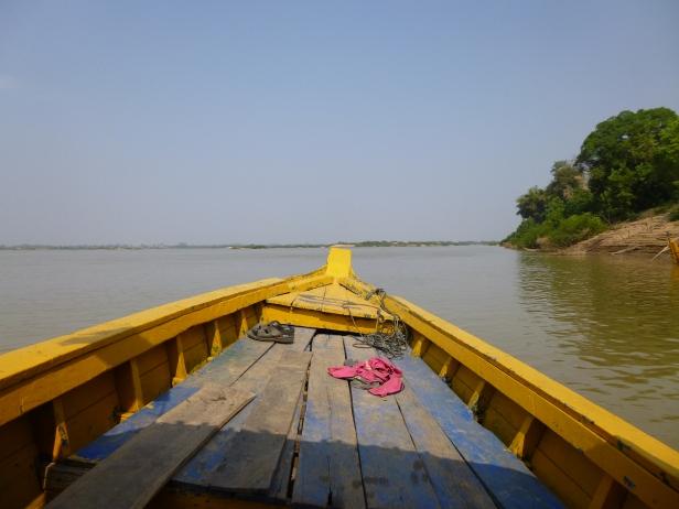 In barca sul Mekong