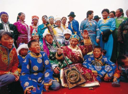 HEROIC EPIC JIANGGAR OF OIRAT MONGOLS