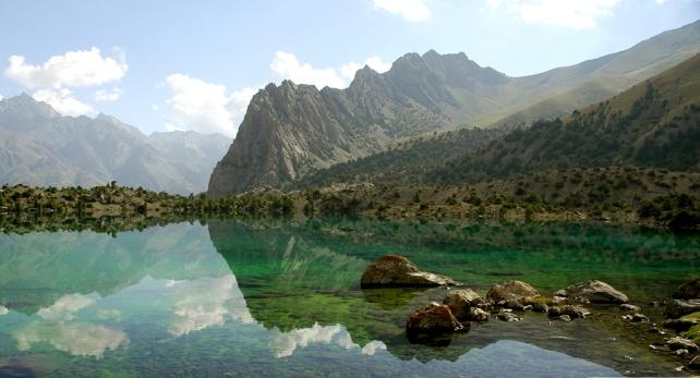 Alauddin-Lakes-Tajikistan